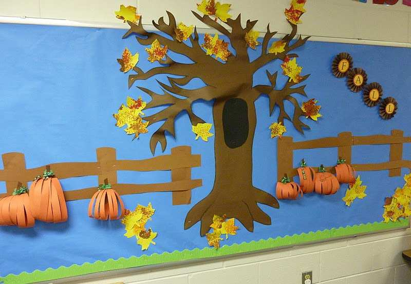 Fall-Bulletin-Board-Display-Idea