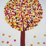 Poka-Dot-Leave-Tree