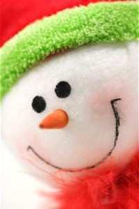Uite Omul de zăpadă...