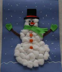 Omul vesel de zăpadă