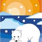The fluffy polar bear