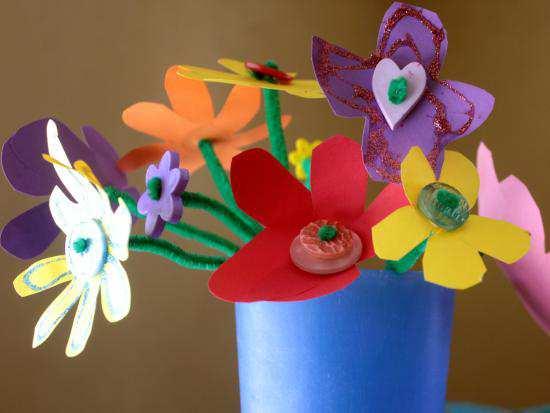 Buchet de flori de primăvară