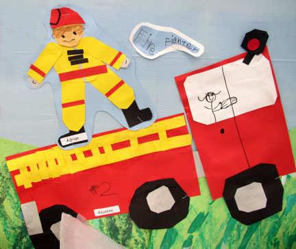 Micul pompier curajos