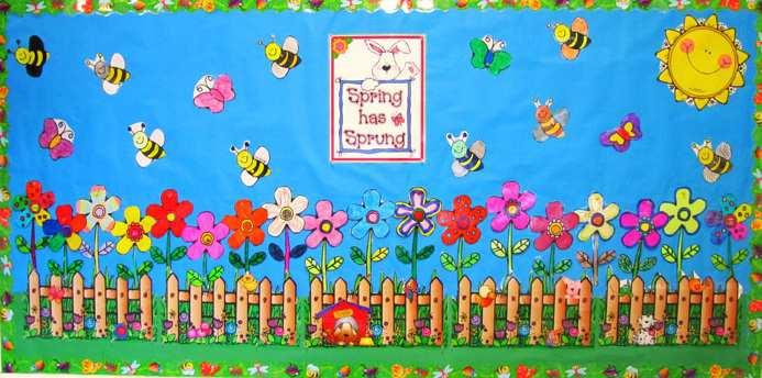 Spring-Bulletin-Board