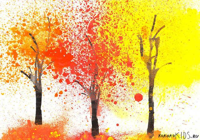 Детские картинки для детского сада про осень