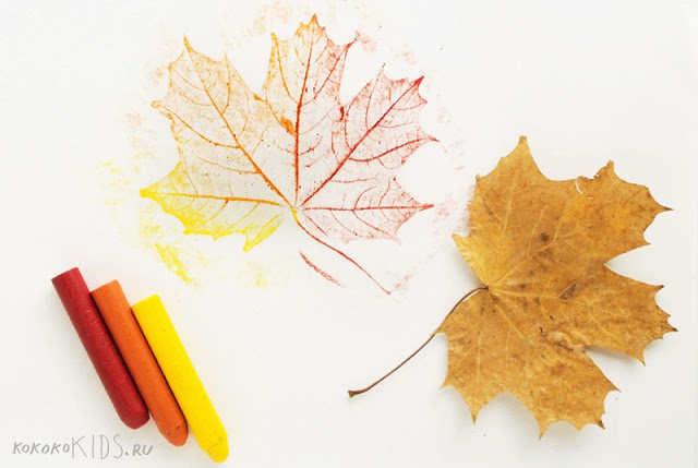 Frunze de toamnă colorate
