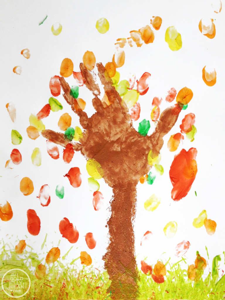 Mânuța mea este un copac!