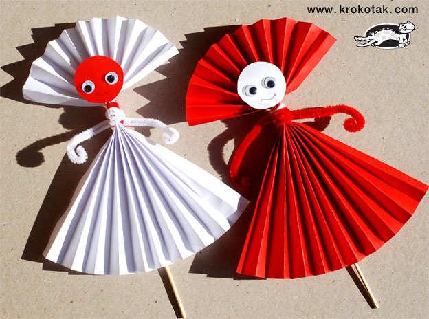 Păpuși decorative pentru Mărțișor