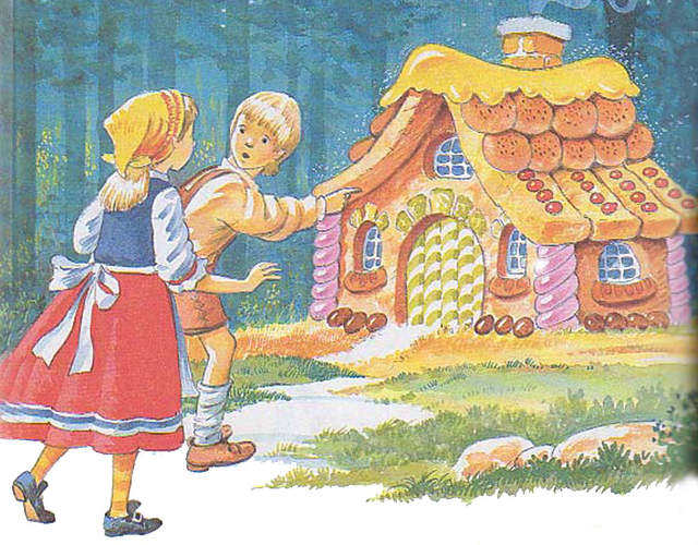 house_with_children_pointing