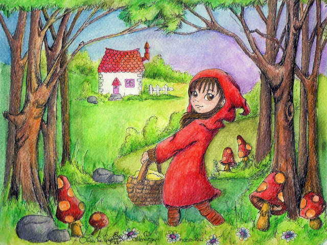 little_red_riding_hood__caperucita__by_aiduqui-d5t4sn1