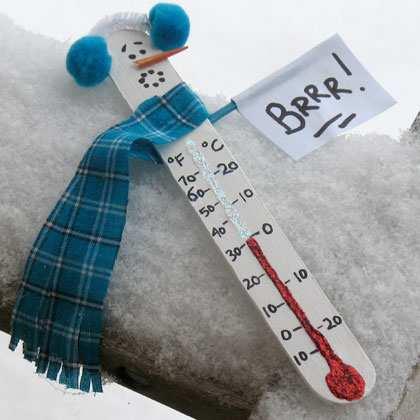 Brrr, este frig afară!